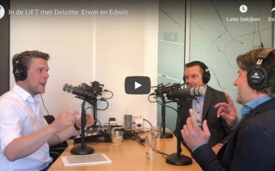 Nieuwe Podcast aflevering in de Lift met Deloitte