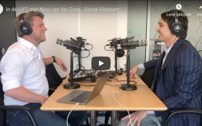 Nieuwe Podcast aflevering in de Lift met Social Elephant