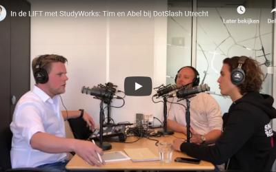 """Nieuwe Podcast aflevering: """"In de Lift"""" Studyworks"""