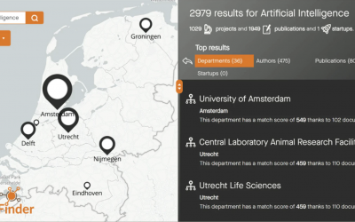 Techleap.nl, Dutch universities and TNO launched ScienceFinder colab with IDfuse