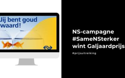 Social Brothers draagt bij aan prijswinnende NS-campagne
