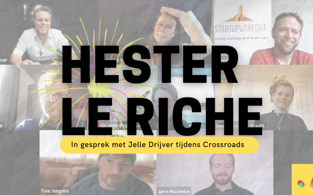 Interview met Hester Le Riche (Tovertafel)
