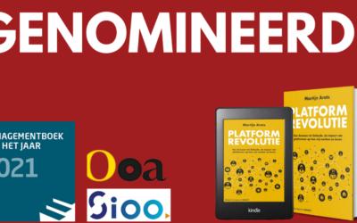 Nieuwste boek 'Platformrevolutie' van Martijn Arets tweemaal genomineerd
